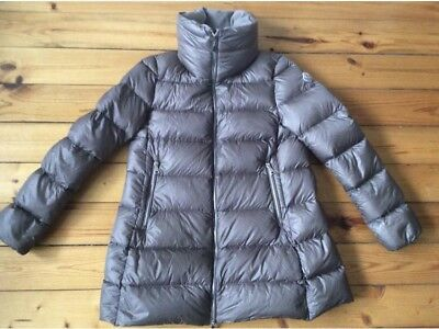 8080543db MONCLER WOMENS COAT—SIZE Small. Down Inside with Ruffles—Black ...