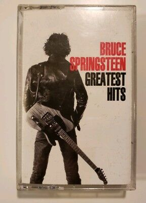 Bruce Springsteen Greatest Hits cassette tape ~ classic rock and roll music