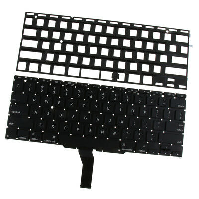 New Computer Keyboard with Backlight for Mac A1465 / A1370 Black US Layout