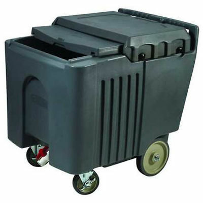Portable Ice bin, Insulated Ice Caddy with Sliding Cover