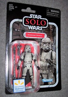 Star Wars 3.75 Vintage Collection MIMBAN STORMTROOPER Walmart Solo Movie TVC