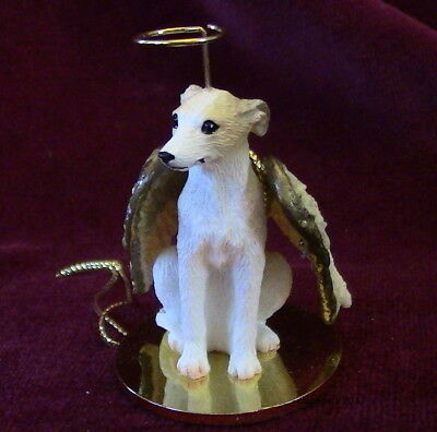 Whippet (tan/white) Angel ~  Proceeds for Red Leash Rescue~Excellent Deal!