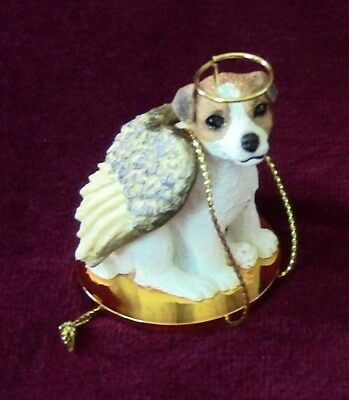 Jack Russell Terrier Smoothcoat Angel~Proceeds to Red Leash Rescue LOW PRICE!