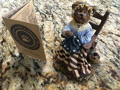 "Boyd's Bears ""betsy Rossbeary."" 2002, A Stitch In Time. #2277911,"