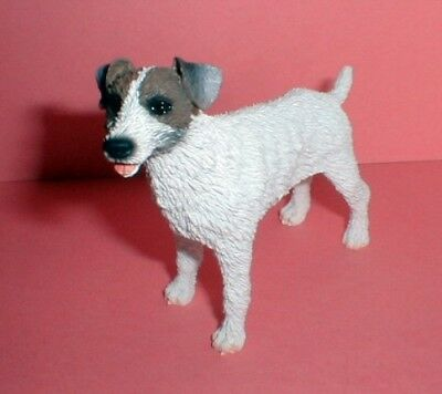 Jack Russell Terrier Figurine R/C Brown/White **Proceeds to Red Leash Rescue**
