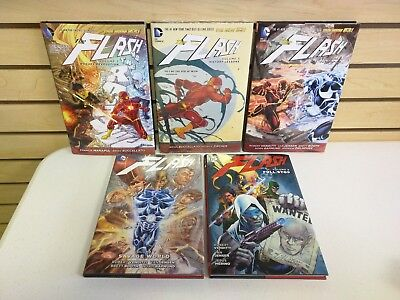 The Flash Vol 2, 5, 6, 7, & 9 Hardcover Lot - Pre-Owned HC New 52