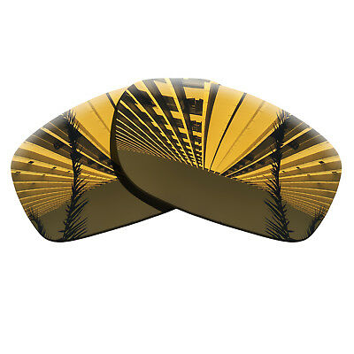 Copper Gold Polarized Lenses Replacement For-Oakley Fives Squared Anti-scratch