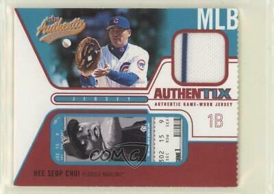 2004 Fleer Authentix Game Jerseys Ripped #JA-HC Hee Seop Choi Chicago Cubs Card