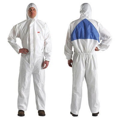 3M Disposable Protective Hooded Coverall - 4540 - XLarge
