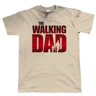 The Walking Dad Mens Funny Movie T Shirt, Fathers Day Birthday Christmas Gift
