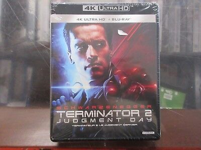 BRAND NEW Terminator 2: Judgment Day (4K Ultra HD + Blu Ray)