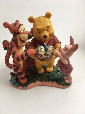 """Simply Pooh """"A Baby,"""" sighed Piglet, """"even Smaller than me."""" TiggerFigurine"""