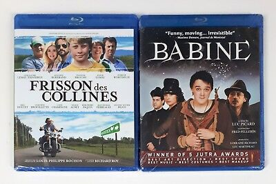 French Blu-ray Movies - Babine and Frisson des Collines - Lot of 2 - New