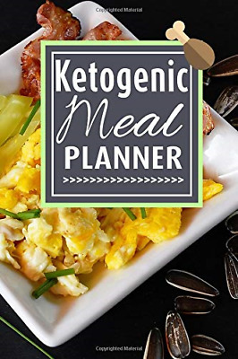 Ketogenic Meal Planner: A Keto Diet Journal for weight loss