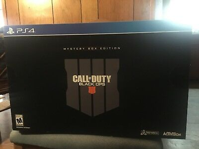 black ops 4 collectors edition ps4