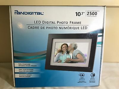 Panimage Pandigital 10.1 Digital Photo Frame PI1003DW 512MB 2500 Images + Remote