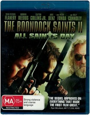 """THE BOONDOCK SAINTS II: ALL SAINTS DAY"" Blu-ray - Region Free [B][A][C] NEW"