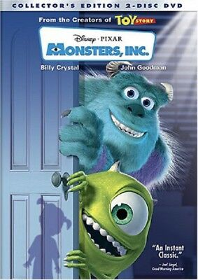 Monsters, Inc. (Two-Disc Collector's Edition), New DVD, Billy Crystal, John Good