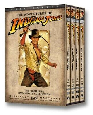 The Adventures of Indiana Jones - The Complete DVD Movie Collection (Full Screen