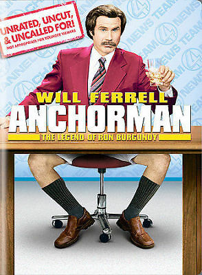 Anchorman - The Legend Of Ron Burgundy (Unrated Widescreen Edition), New DVD, Ch