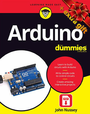 Arduino For Dummies -  SECOND EDITION (eb00k) + GIFT