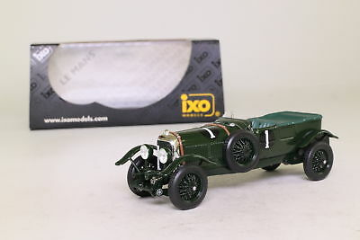 IXO; 1930 Bentley Speed Six; 1929 Le Mans 1st; Barnato, Birkin; Excellent Boxed