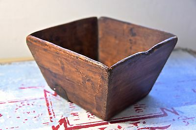 Vintage Chinese Rice Measure Wooden Box - Old Wooden Box - Vintage Chinese Box 2