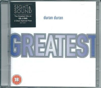Duran Duran Greatest (2005) CD & DVD NUOVO The Reflex A View To A Kill Wild Boys