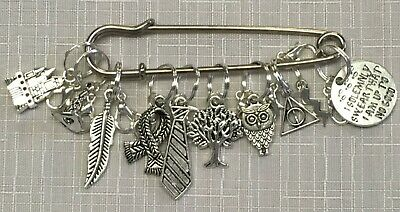 Knitting Stitch Marker Sets - Harry Potter Walking Dead and more!