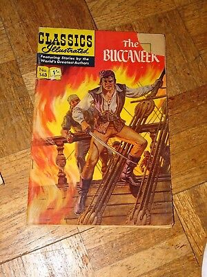 Classics Illustrated No 148 The Buccaneer