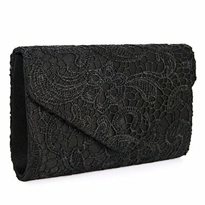 1c9af4c97b1 Chichitop Women s Elegant Floral Lace Evening Clutch Envelope Prom Handbag  Purse