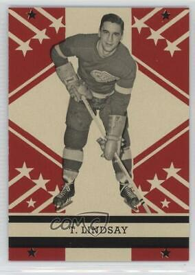 2011-12 O-Pee-Chee Retro #535 Ted Lindsay Detroit Red Wings Hockey Card