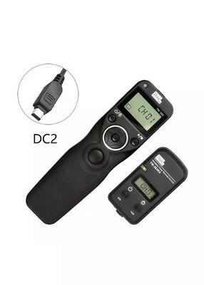 Pixel TW-283/DC2 LCD Wireless Timer Shutter Release Remote for Nikon DC2 £29rrp