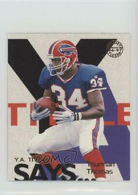 1997 Fleer Goudey YA Tittle Says #19 Thurman Thomas Buffalo Bills Football Card