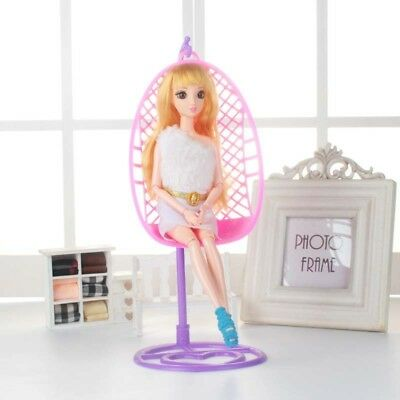 Plastic Miniature Detachable Swing Toy For Fashion Dolls House Accessories