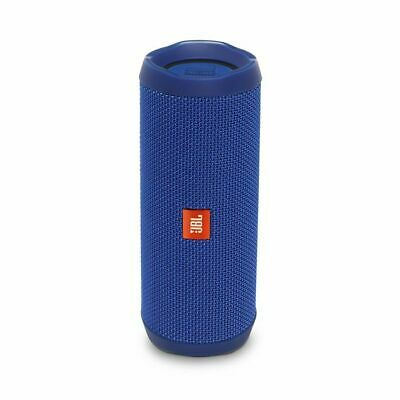 JBL Flip 4 Waterproof Bluetooth Speaker (Blue). Authorized Dealer!