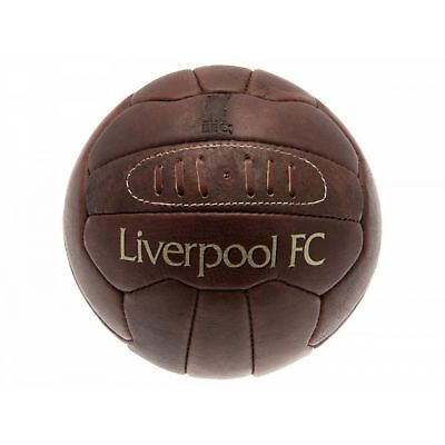 c6ce115a4 Liverpool FC Official Retro Heritage Leather Football (BS724)