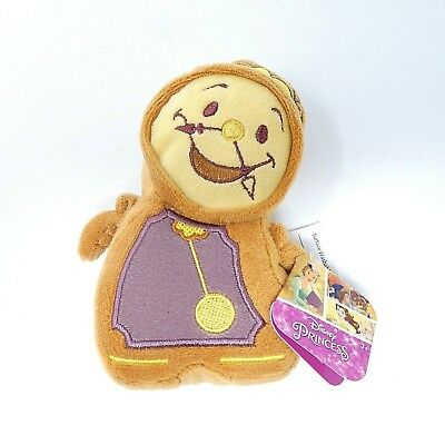 """Disney Princess / Beauty and the Beast / Just Play / Cogsworth Plush 5"""""""