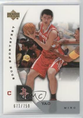 f711ad910f54e YAO MING ROCKETS 2007-08 UD NBA Artifacts Divisional Artifacts Patch ...