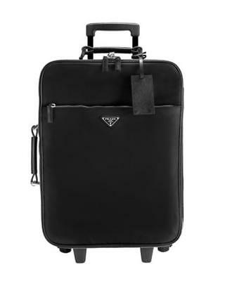5f742d85e03b AUTHENTIC PRADA SAFFIANO Leather Travel Trolley Carry On Suitcase ...