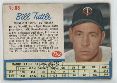 1962 Post Baseball Pick Your Card Each Card Scans