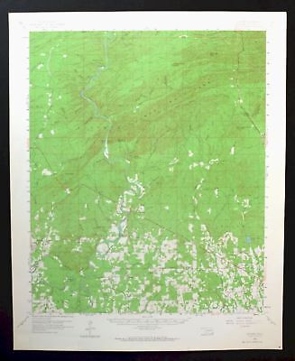 Golden Oklahoma Vintage USGS Topo Map 1959 Wright City 15-minute Topographical