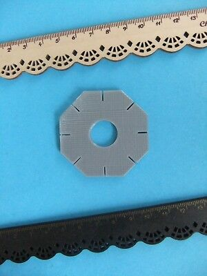 * RARE KUMIHIMO BRAIDING CORD DISK for WEAVING RARE Jewellery Making 8 Sides *