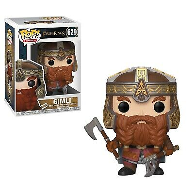 Funko - POP Movies: Lord Of The Rings / Hobbit S4 - Gimli Brand New In Box
