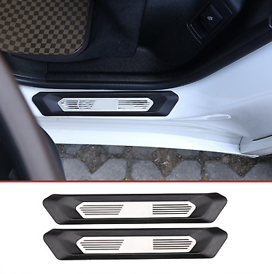 BMW X3 G01 X4 G02 door sill covers 2pcs with BMW logo in middle