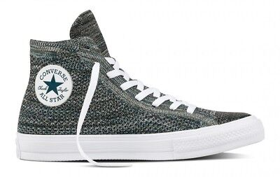 CONVERSE CHUCK TAYLOR ALL STAR HI FLYKNIT MENS SHOES size 10  110 NEW  157509C ab0dcbd52