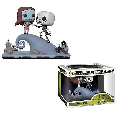 Funko - Movie Moment: Nightmare Before Christmas  Jack and Sally on the Hill New