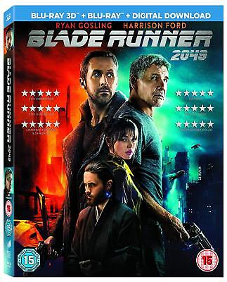 Blade Runner 2049 (3D + 2D Blu-ray, 2 Discs, Region Free) *NEW/SEALED*