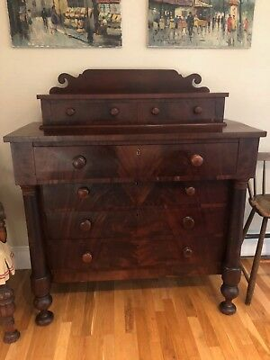 FURNITURE Antique Walnut Dining Sideboard - Beautiful - Early 1900's