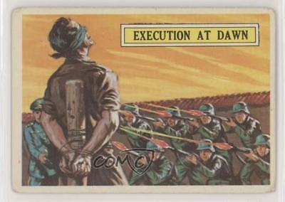 1965 Topps Battle: The Story of World War II #3 Execution at Dawn Card 0s4